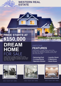 Real Estate A4 template