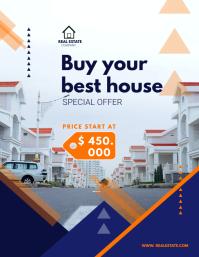 Real Estate Flyer (US Letter) template