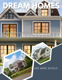 real estate Design Pamflet (Letter AS) template