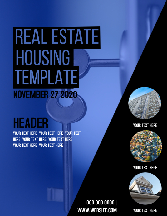 REAL ESTATE Event Template