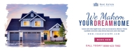 Real Estate Facebook Cover Banner template