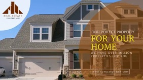 Real Estate Facebook cover Template