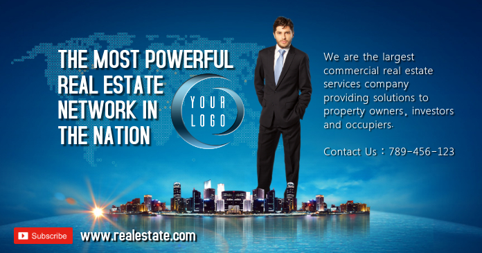 Real Estate Facebook Template