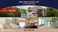 Real Estate Facebook Video Ad Digital Display (16:9) template