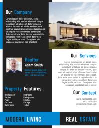 Real Estate Flyer & Leaflet Templates Design