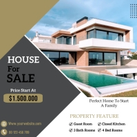 real estate flyer Iphosti le-Instagram template