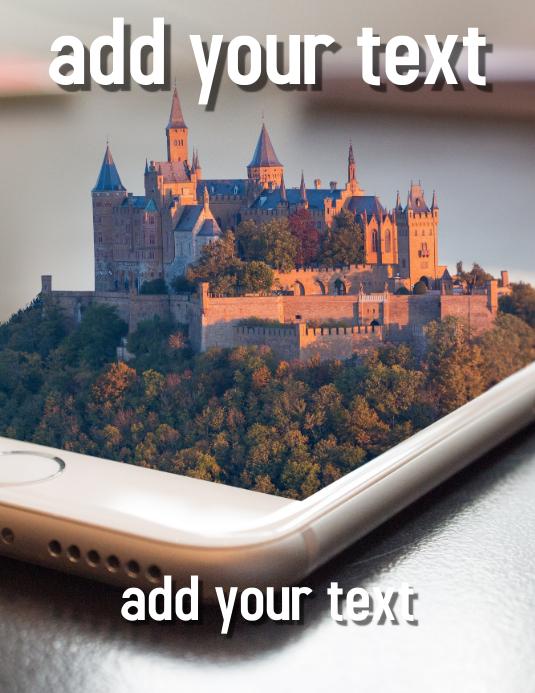 FREE!!! Real Estate Flyer Design Template Ulotka (US Letter)