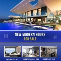 real estate flyer Instagram 帖子 template