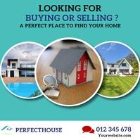 real estate flyer Instagram Post template
