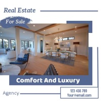 real estate flyer Pos Instagram template