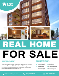 Real Estate Flyer Volantino (US Letter) template