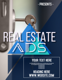 REAL ESTATE FLYER POSTER AD TEMPLATE REALTOR