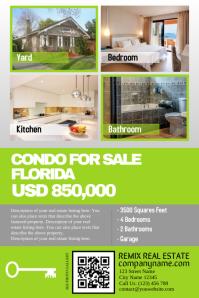 Real estate flyer for single property