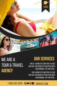 Hotel Promotions' Banner 4' × 6' template
