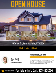 Good Real Estate Flyer Template