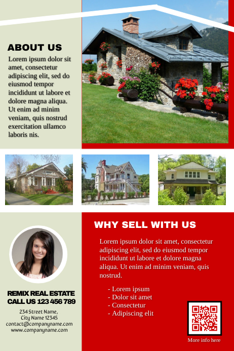 real estate flyer postermywall professional template postermywall