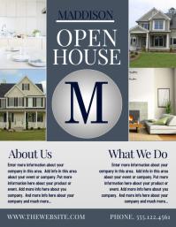 Open House Flyer · OPEN HOUSE. Similar Design Templates