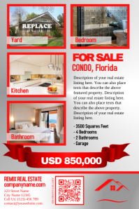 Best real estate flyer - Great for a single property