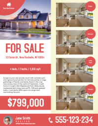 Real Estate Flyer Templates PosterMyWall - Home buyer seminar flyer template