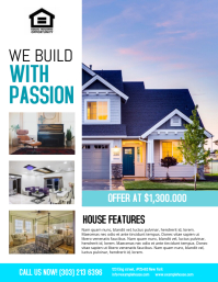 Customizable Design Templates for Real Estate Flyers | PosterMyWall