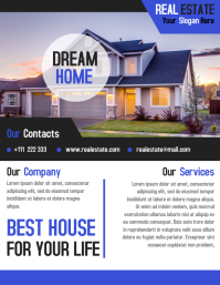 Real Estate Flyer Template Design