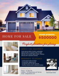 Real Estate Flyer Template Design