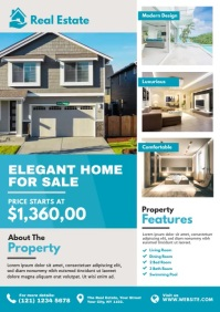 Real Estate Flyer Template A4