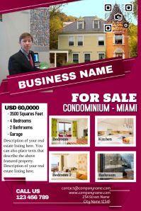 Real estate flyer template - Professional design
