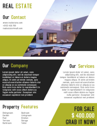 Real Estate Flyer Template Fully Editable
