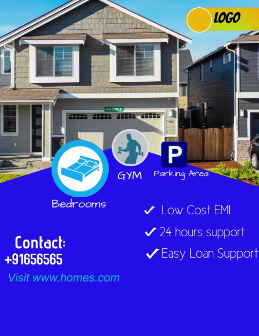 Real Estate Flyer Video