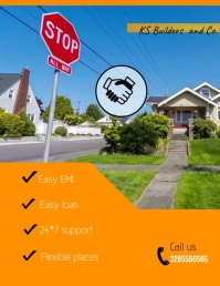 Real Estate Flyer Video Pamflet (VSA Brief) template
