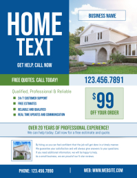 Real Estate Home Flyer