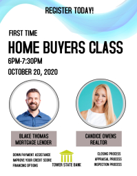 real estate homebuyers class Pamflet (VSA Brief) template