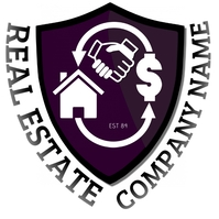 REAL ESTATE HOUSING Logo template