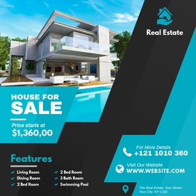 Real Estate Instagram Ad template