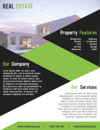 Real Estate Leaflet & Flyer Templates Design