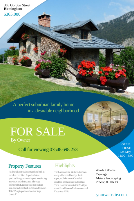 Real Estate Leaflet