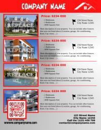 Real estate listing flyer - Letter size