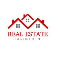 Real estate logo Logotyp template