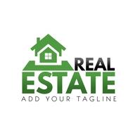 Real Estate Logo Template Logótipo