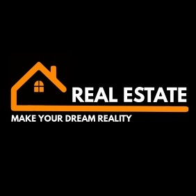 real estate logo template design