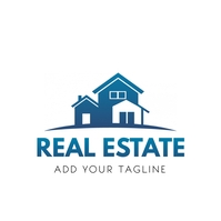 Real Estate Logo Template 徽标