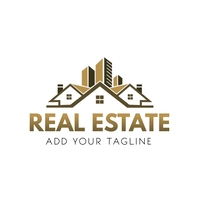 Real Estate Logo Template Logótipo