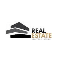Real Estate Logo Template Логотип