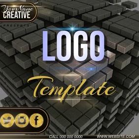 Real estate Logo template instagram