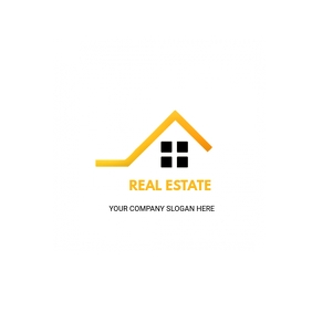 Real estate logos template