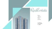 Real Estate Minimal Business Card Carte de visite template