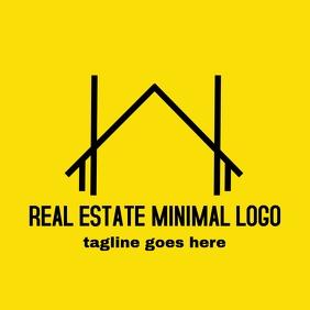 Real estate minimal logo