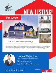 Real Estate New Listing Flyer Poster Promotion