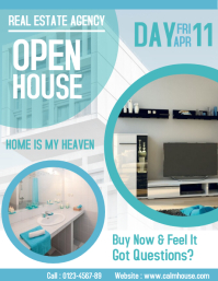 Real Estate Open House Flyer Advertisement
